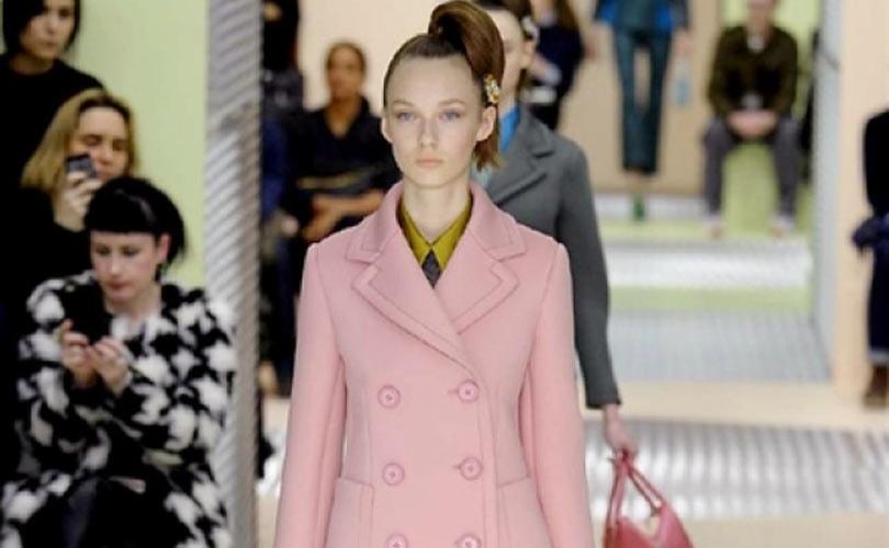 MFW: Tweed e colori pastelli fanno elegante la donna Prada