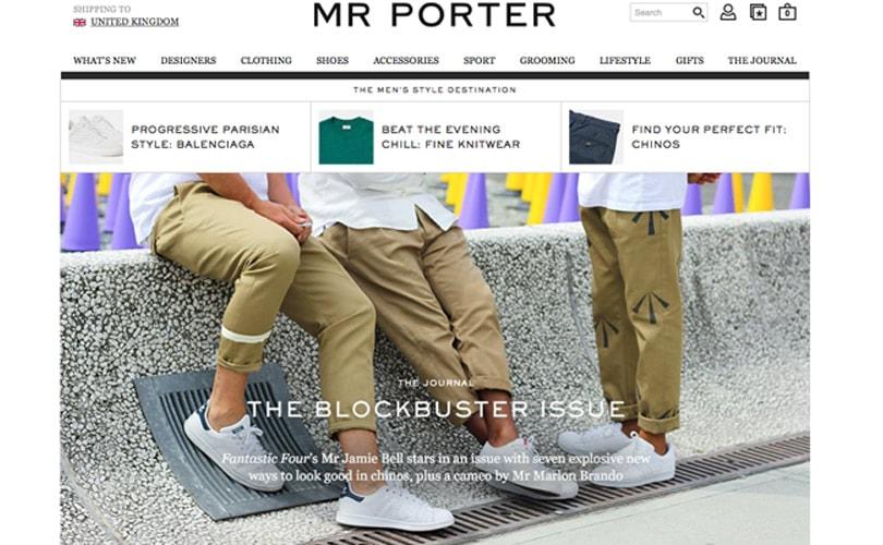 Mr Porter al top dei retailer che sanno usare i social media