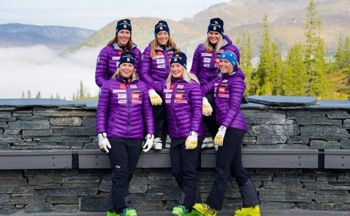 Helly Hansen partner del team sevedese di sci alpino