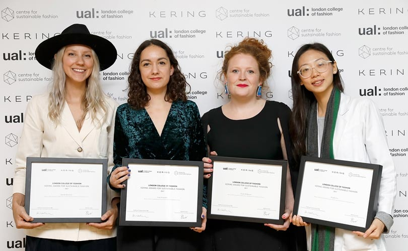 Svelati i vincitori del Kering award for sustainable fashion