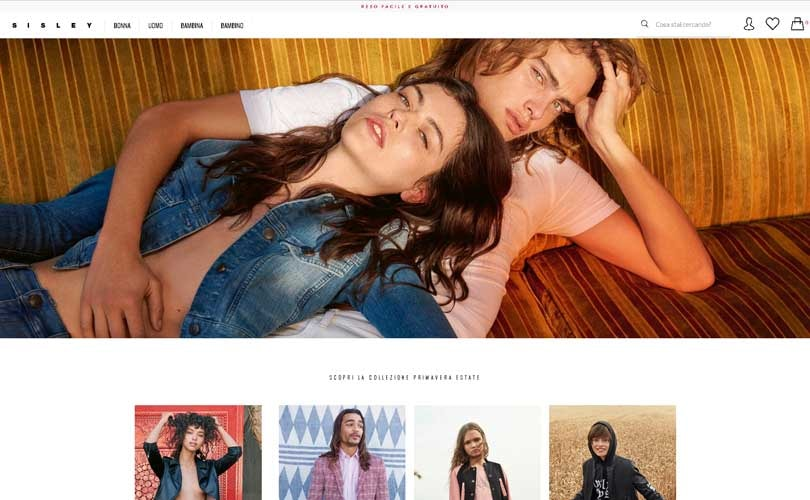 Nuovo ecommerce per United Colors of Benetton e Sisley