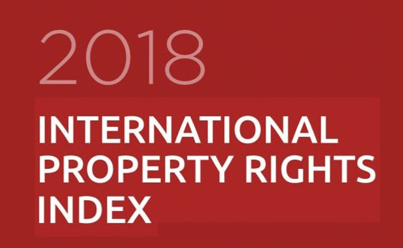 Italia al 50esimo posto dell'International Property rights Index 2018