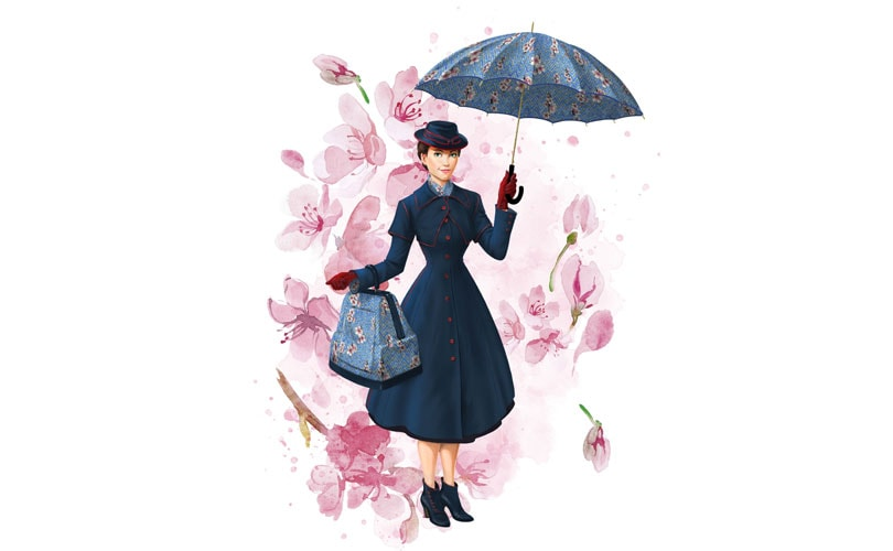 In vendita la capsule Mary Poppins Returns x Yoox